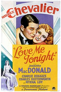 <i>Love Me Tonight</i> 1932 film