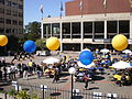 Lower Sproul Plaza during Cal Day 2009 3.JPG