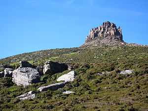 Mount Pelion East - Image: Lower slopes