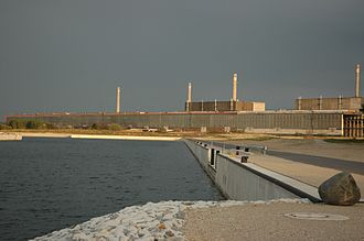 Greifswald Nuclear Power Plant - Several of the units of the Greifswald NPP