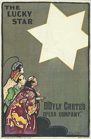 The Lucky Star - Poster for original production