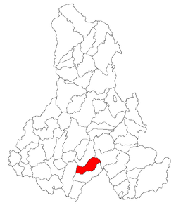 Location of Lueta