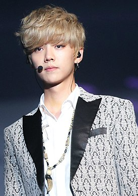 Luhan at the EXO The Lost Planet in Singapore 01.jpg