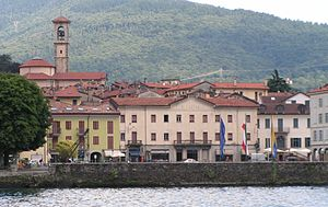 Luino - Panorama of Luino