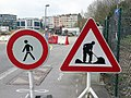 Luxembourg road signs C,3g & A,15 (old symbol).jpg