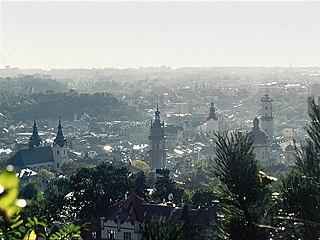 Lviv City of regional significance in Lviv Oblast, Ukraine