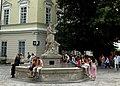 Lwów , Polish , now Lviv , Львов - Fontanna Adonisa XVIII - XIX w. - panoramio.jpg