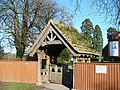 Lychgate, St Mary's Church, Marshfield - geograph.org.uk - 630808.jpg