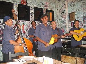 Cuban Mexicans - Cuban musicians in Coyoacán, Mexico City.
