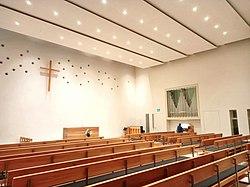 München-Laim, Neuapostolische Kirche (Innenansicht) (2).jpg