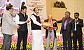 M. Venkaiah conferred the National Awards for Excellence in Journalism, at the Golden Jubilee celebrations of the Press Council of India, on the occasion of the National Press Day, in New Delhi (1).jpg