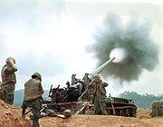 M107 Firing Vietnam 2