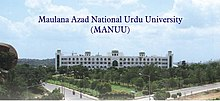 Maulana Azad National Urdu University, Hyderabad ...
