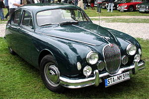 Jaguar Mark 1 - 2.4 Litre with new grille introduced 1957