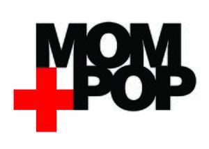 Mom + Pop Music - Image: MOM and POP logo