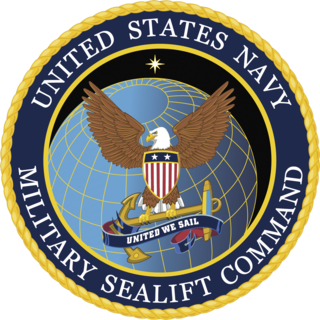 Military Sealift Command United States Navy command overseeing logistics
