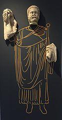 Maximien Hercule donnant le signal d'ouverture des jeux (Ra 50 bis - Ra 97 - Ra 98)