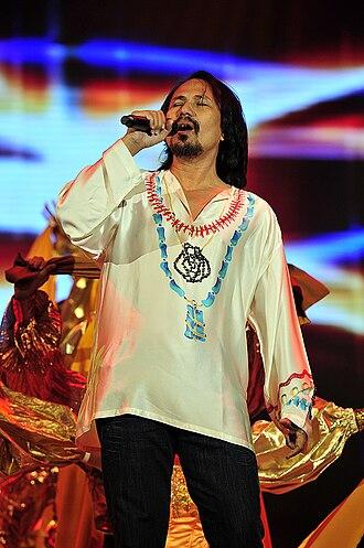 M. Nasir - M. Nasir performing during the 2008 Anugerah Juara Lagu
