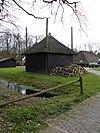 foto van Cruyvoort: rieten kapberg