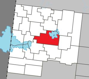 Macamic, Quebec - Image: Macamic Quebec location diagram
