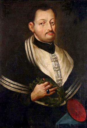 Maciej Kazimierz Sarbiewski - Anonymous portrait