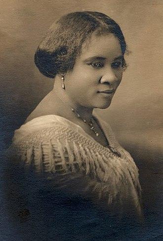 Madam C. J. Walker - Walker in 1903
