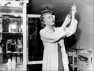 Madeleine Carroll - Carroll starred in a radio daytime drama, The Affairs of Dr. Gentry, from 1957 to 1959.