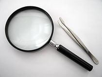 Magnifying glass and Stamp tong.jpg
