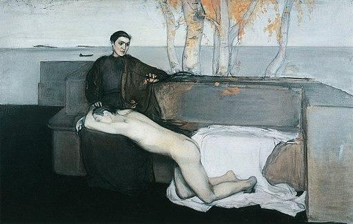 Magnus Enckell - Melancholy (1895)