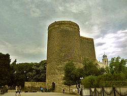 Maiden Tower in Baku, Azerbaijan.jpg