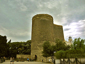 Baku bid for the 2016 Summer Olympics - Maiden Tower, symbol of Baku.