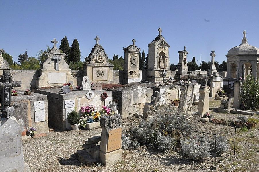 Maillane, Friedhof