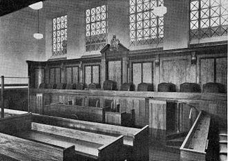 Kingston History Centre - Image: Main Court Room, Guildhall, Kingston