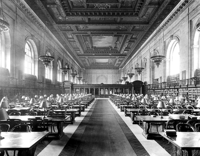 File:Main Reading Room of the New York City Public Library on 5th Avenue ca, 1910-1920.jpg