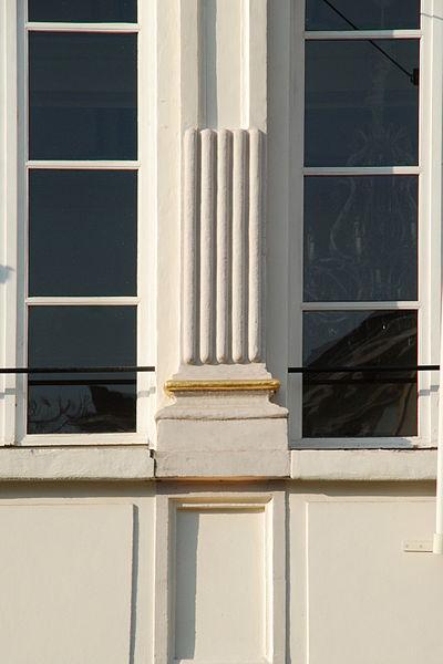 Belgique - Bruxelles - Maison de la Lunette