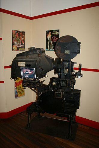 Majestic Picture Theatre, Malanda - 1930s Simplex projector, 2007