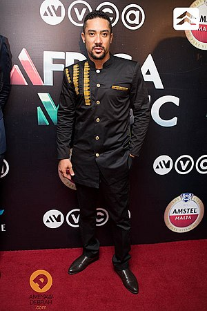 Africa Movie Academy Award for Best Actor in a Leading Role - 2012 Best Actor winner Majid Michel