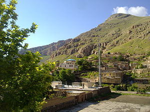 Maku, Iran - The beauty of Maku- Shirzadeh