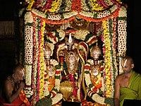 Malayappa in sarvabhoopala vahanam