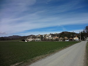 Mallemoisson - A general view of the village of Mallemoisson