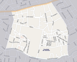 Street map o Malvín Norte