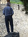 Man outside Xan Sarayi - Sheki - Azerbaijan (17643014754).jpg