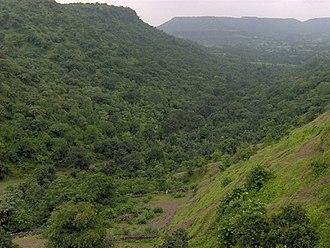 Vindhya Range - Vindhyas near Mandu, Madhya Pradesh