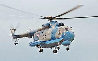Mil Mi-14 anti-submarine helicopter