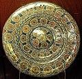 Manises, piatto con lustro metallico, 1450-75 ca. 01.JPG