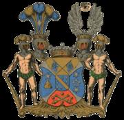 Mannerheim-vapaaherrasuvun vaakuna