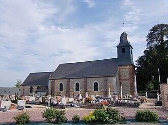 Manneville-sur-Risle - Image: Manneville Sur Risle église 1