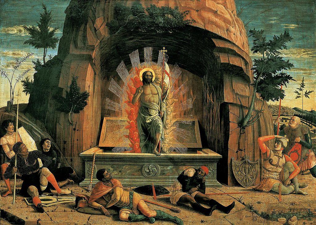 Ca s'est passé en septembre ! 1024px-Mantegna%2C_Andrea_-_La_R%C3%A9surrection_-_1457-1459
