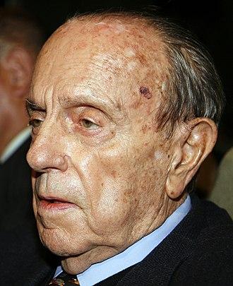 Spokesperson of the Government of Spain - Image: Manuel Fraga Iribarne