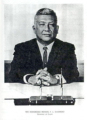 Manuel Flores Leon Guerrero - Governor Manuel Flores Leon Guerrero